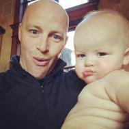 wilson chubby baby with david