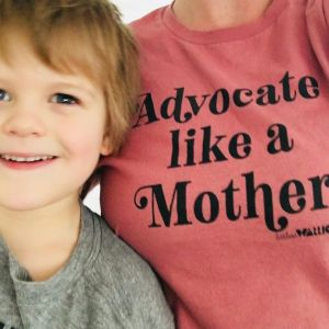 advocate mother pink